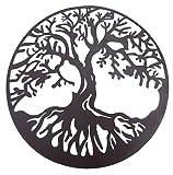 Tree of Life Metal Wall Hanging Sculptures Garden Art 24 Inches 1310