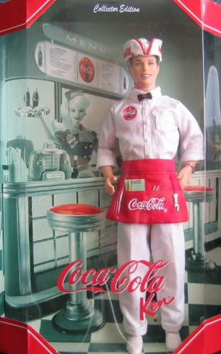 Mattel Barbie - Coca Cola Ken Doll - Coke Ken