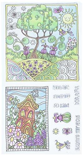 Hampton Art Color Me Clear Stamps 4