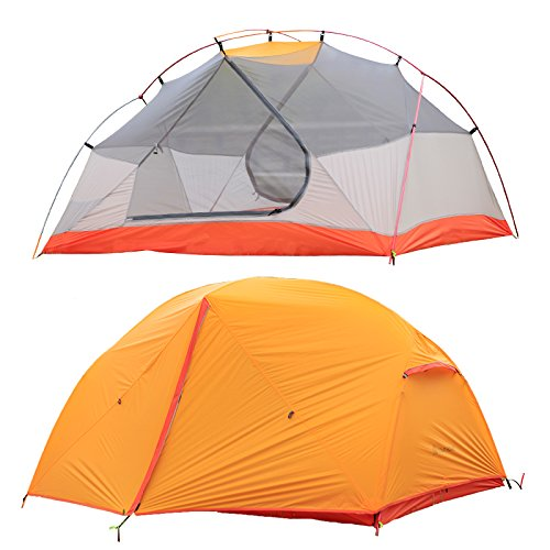 STAR HOME Camping Tent Lightweight Waterproof Backpacking Tents Hiking 2 Person Tents 3 Size by STAR HOME (Image #8)