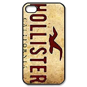 American Youth Loved Brands Hollister Protective Hard Plastic Apple iPhone 4 4s Case Cover,Top iPhone 4 4s Case from Good luck to