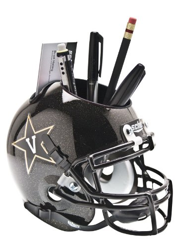 Schutt NCAA Vanderbilt Commodores Helmet Desk Caddy, Black by Schutt