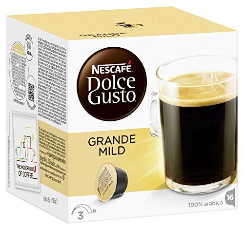 Nescafé Dolce Gusto Grande Mild, 3er Pack (48 Kapseln)