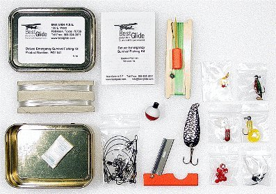 Survival Fishing Kit – Standard Version, Outdoor Stuffs