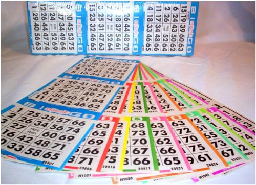 Complete Bingo Game Kit with Professional Bingo Cage, Balls, Paper, No-mess Crayola Washable Markers, Operation Instructions and Outstanding Game Play Options!