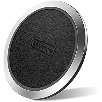 TORRAS Cell Phone Wireless Charger, Qi Certified 10W Fast Charger QC 3.0 Wireless Charging Pad for Samsung Galaxy S9 / S9+ Plus / S8 / S7 / S6, iPhone X / 8 and More