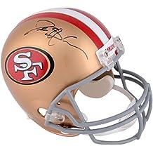 Deion Sanders San Francisco 49ers Autographed Riddell Replica Helmet - Fanatics Authentic Certified - Autographed NFL Helmets