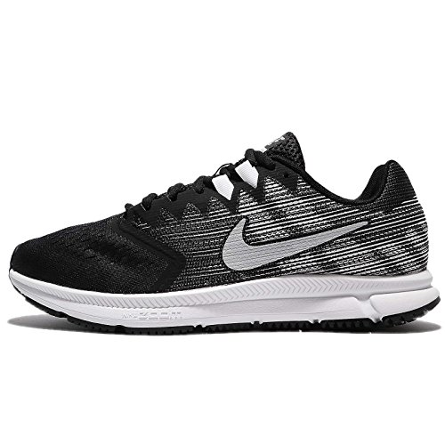 Nike Zoom Span 2 Mens Running Trainers 908990 Sneakers Shoes (UK 6 US 7 EU 40, Black Metallic Silver 001) (Nike Zoom Kobe 6)