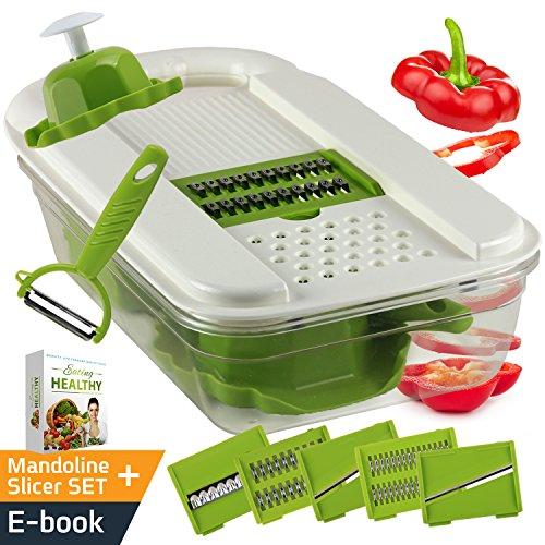 Adjustable Mandoline Slicer Vegetable Stainless product image