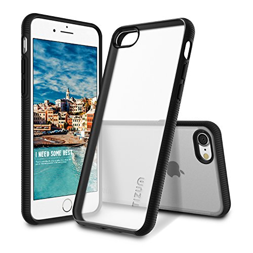 Tizum IntelliClear Back Cover for Apple iPhone 7  Black