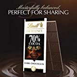 Lindt Excellence Bar, 70% Cocoa Smooth Dark