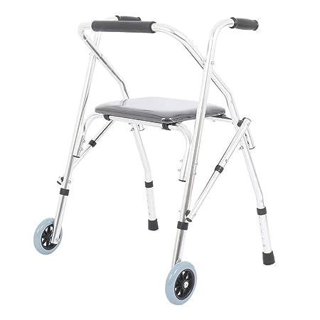 YX Andador plegable, andador plegable Marco para caminar de ...