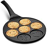 Gourmia GPA9540 Emoji Smiley Face Pancake Pan - Fun
