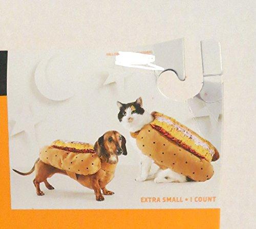 Hyde & Eek Pet Dog Cat Hotdog costume -