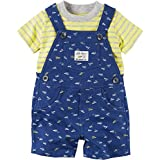 Carter's Baby Boys' 2-Piece Set Overall and Top