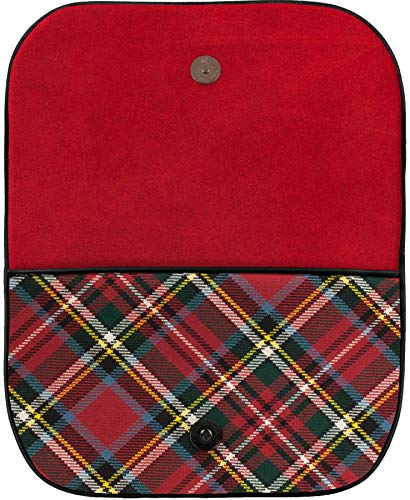 Large Leather In Clutch Inside Back Prince Bonnie Charlie Pocket And Tartan Bag rrqTSc4d