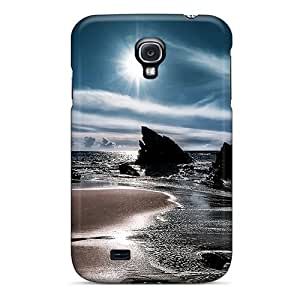 The Black Sea Flip Case With Fashion Design For Case Samsung Note 4 Cover