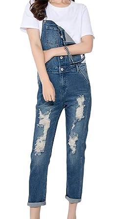Amazon.com: XTX - Pantalones vaqueros ajustables para mujer ...
