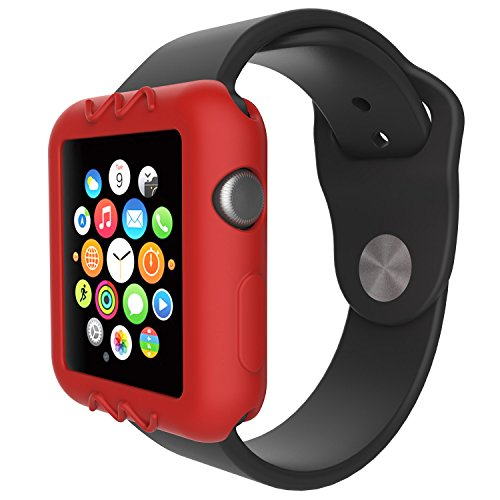 For Apple Watch 38mm Protective Case, 10x Replacement Silicone Soft Case Cover for Apple Watch Series 3 2 1 Smartwatch, 10pcs by E ECSEM (Image #5)