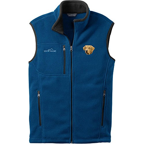 Cherrybrook Dog Breed Embroidered Mens Eddie Bauer Vest - XX-Large - Deep Sea Blue - Chesapeake Bay Retriever