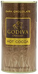 Godiva Dark Chocolate Hot Cocoa Can, 14.5-ounces, 2 Pack