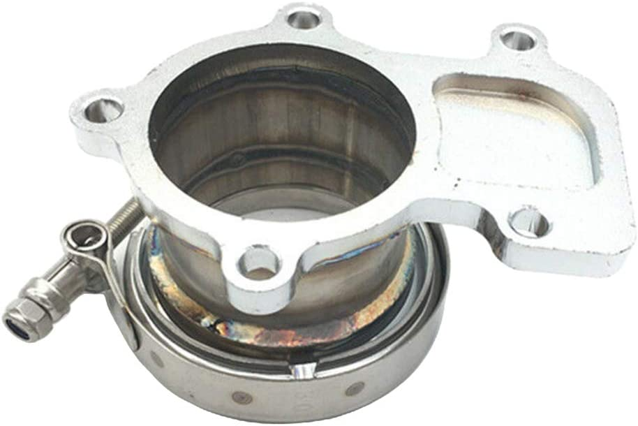 kesoto Downpipe Flange 3 V-band Kit For Cummins Holset WH1C HX35 HX35W HX40