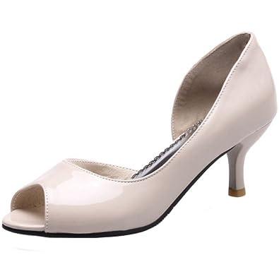 Zanpa Damen Schuhe mit Absatz Kitten Heel