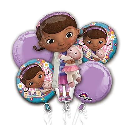 Doc McStuffins Foil Balloon Bouquet Cluster: Toys & Games