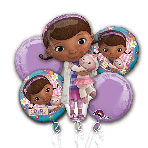 Doc McStuffins Foil Balloon Bouquet Cluster ()