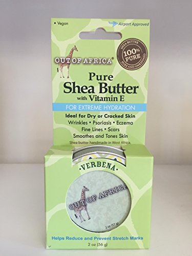 Out of Africa Verbena Shea Butter Tins ,  2 Ounce