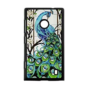Canting_Good Stained Glass Custom Case Shell Skin for Nokia Lumia 520