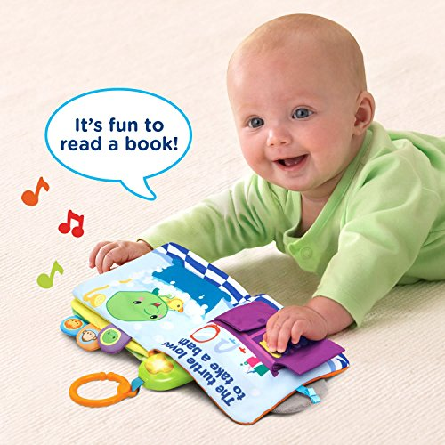 514CxrqrPKL - VTech Peek & Play Baby Book Toy