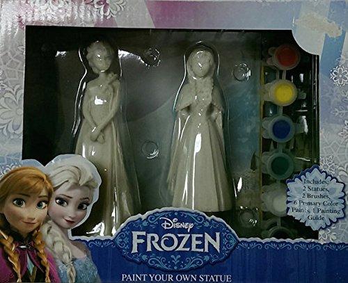 Disney Frozen Paint Your Own Statue