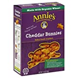 Annie's Homegrown White Cheddar Bunnies 7.5-Ounce (Pack of 60)