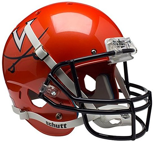 VIRGINIA CAVALIERS Schutt AiR XP Full-Size REPLICA Football Helmet UVA (ORANGE/NAVY) by ON-FIELD