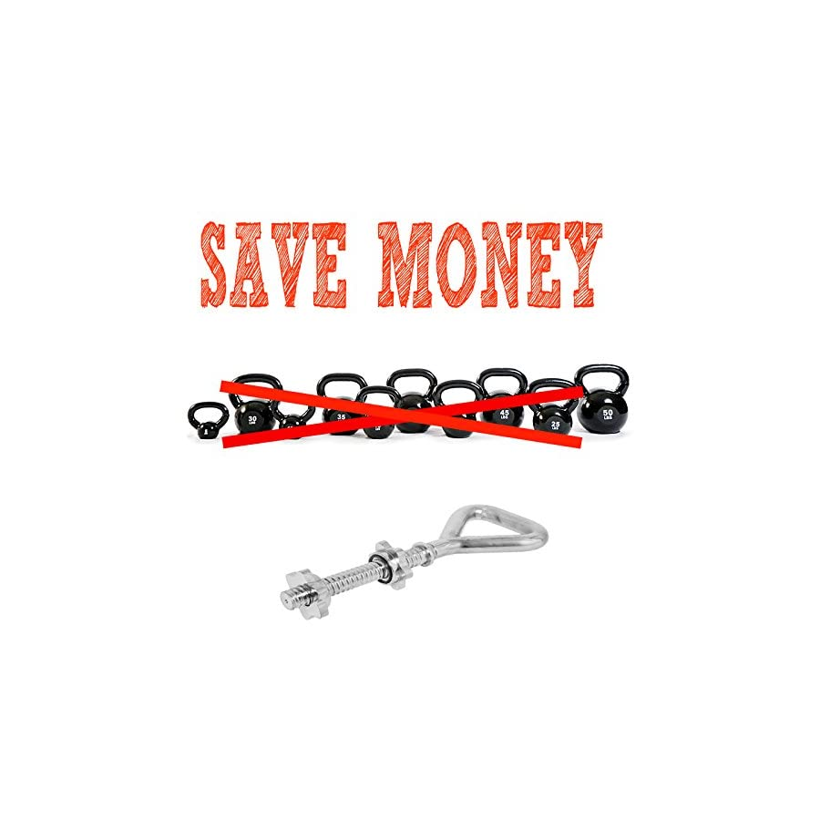 TreadLife Fitness Threaded Kettlebell Handle Save Money
