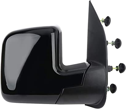 Ineedup Right Towing Mirror Manual Folding Tow Mirror Fit for 2003-2013 Ford E-150 E-250 2004-2013 Ford E-350 Ford E-450 Super Duty E-450 with
