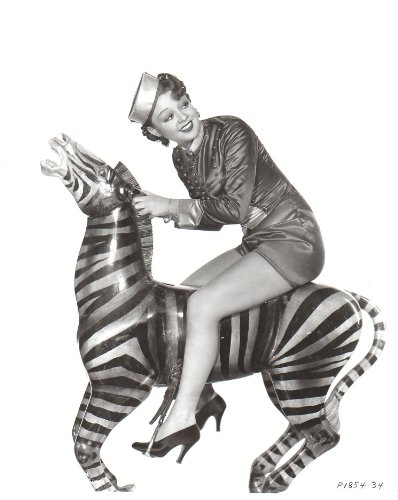 (Iris Adrian Leggy on Zebra 8x10 glossy Photo #E0775)