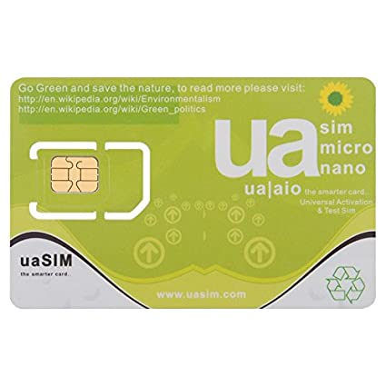 ua SIM - Universal Activation & Test SIM for iPhone 3G/S, 4/S, 5, 5S
