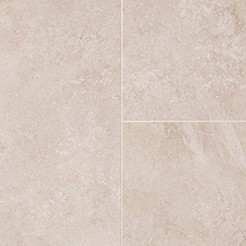 Mannington Tile Floors (Mannington Hardware AR243 Adura Rectangles Luxury Athena Maiden's Veil Vinyl Tile Flooring, Maiden's Veil)