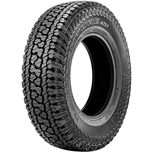 Kumho Road Venture AT51 all_ Season Radial Tire-31X10.50R15LT/6 109R (Best Mt Tire For Highway)