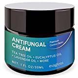 Antifungal Cream Ointment for Athletes Foot, Jock Itch, Ringworm, Dry Itchy Skin- Plant Rich Formula, Effectively Build Antibacterial Defense and Moisture Barrier by Evagloss