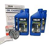 Yamalube-F75 ~ F115 Outboard Oil Change Kit Qty 4