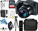 Canon PowerShot SX420 IS Digital Camera w/ 20MP, 42x Optical Zoom, 720p HD Video & Built-In Wi-Fi + 64GB Card + Reader + Grip + Spare Battery and Charger + Tripod + DigitalAndMore Accessory Bundle Review