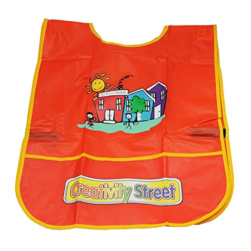 (Chenille Kraft CK-5207 Creativity Street Sleeveless Art Smock, 0.3
