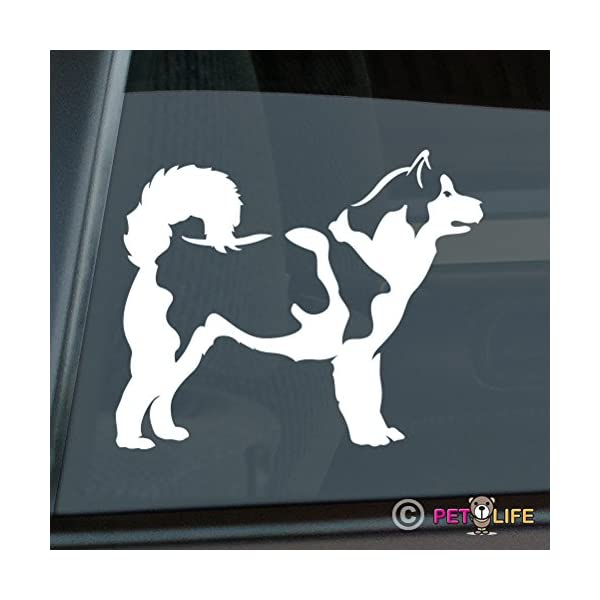 Mister Petlife Alaskan Malamute Sticker Vinyl Auto Window Mally 1