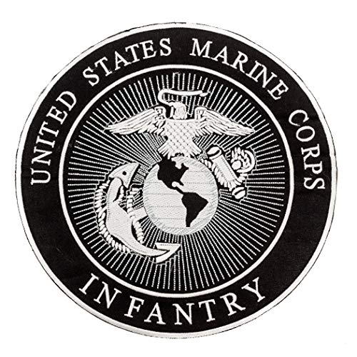 (Sturgis-Mid-West United States Marine Corps Infantry Patch for Vest Jacket)