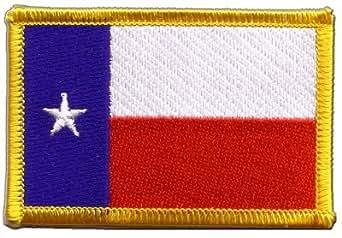 Digni USA Bandera de Texas bordado para planchar parche