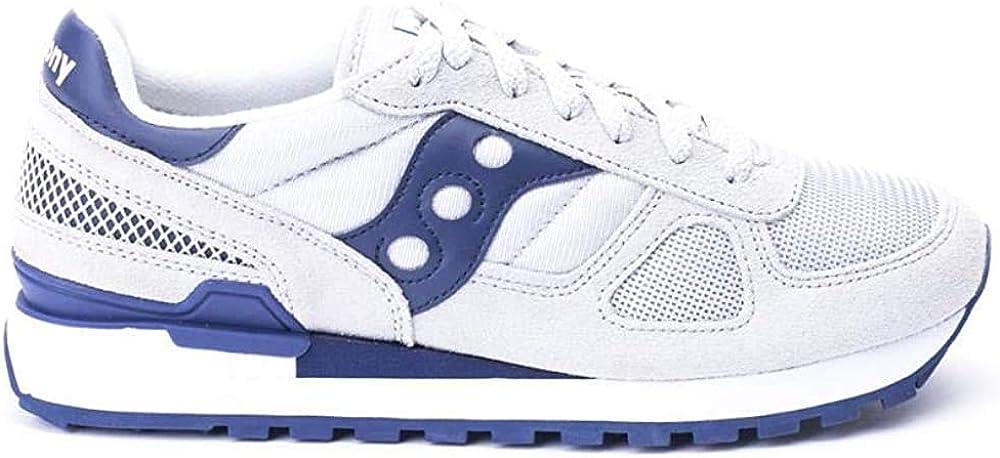 Saucony Shadow Original Sneakers in Grigio e Blu S2108 640
