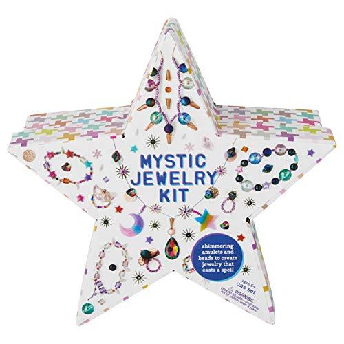 Kid Made Modern Mystic Jewelry Kit - DIY Custom Colorful Jewelry Making for Kids and Teens